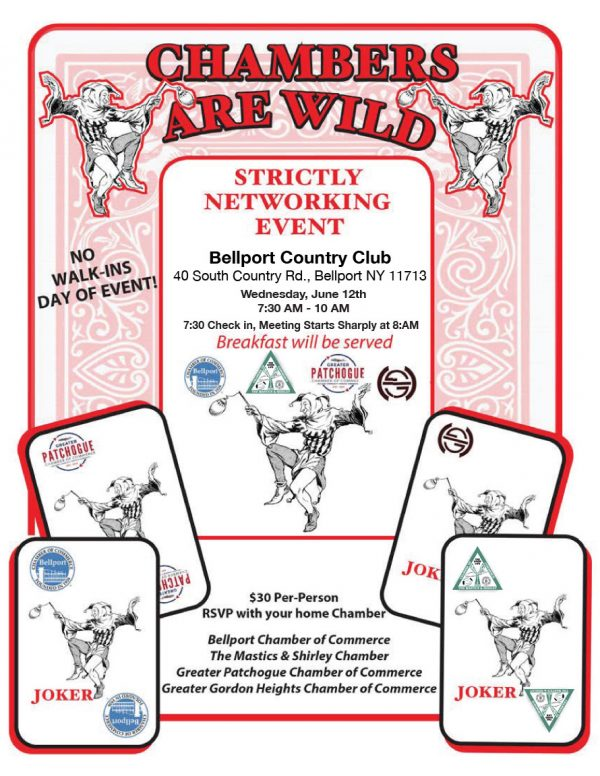 """""""Chambers Are Wild"""" Joint Chamber Networking Meeting"""