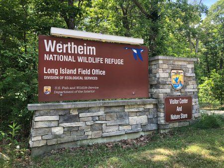 Wertheim National Wildlife Refuge sign