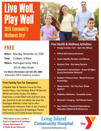 2018 Community Wellness Day @ Patchogue Family YMCA | Patchogue | New York | United States