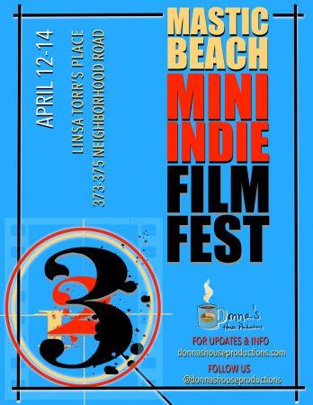 Mastic Beach Mini Indie Film Festival @ Cultural Arts Center of Mastic Beach | Mastic Beach | New York | United States