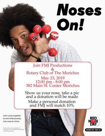 FMJ Productions Red Nose Day Event @ FMJ Productions | Center Moriches | New York | United States