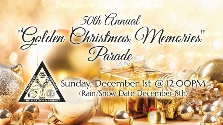 "50th Annual ""Golden Christmas Memories"" Parade @ Montauk Highway, Mastic & Shirley"