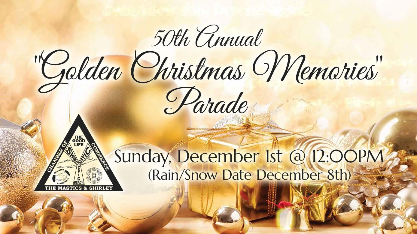 Christmas Memories.50th Annual Golden Christmas Memories Parade Sponsorship