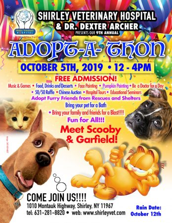 Shirley Veterinary Hospital 9th Annual Adopt-A-Thon @ Shirley Veterinary Hospital | Shirley | New York | United States