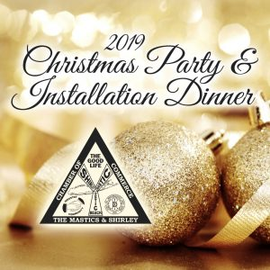 2019 Christmas Party & Installation Dinner