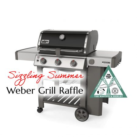 Sizzling Summer Weber Grill Raffle Ticket