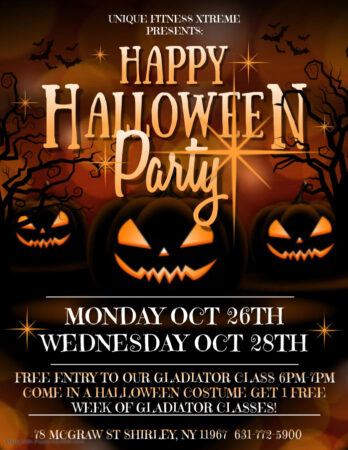 Happy Halloween Party @ Unique Fitness Xtreme   Shirley   New York   United States